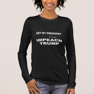 Klagen Sie Trumpf an Langarm T-Shirt