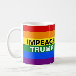 Klagen Sie Trumpf an Tasse