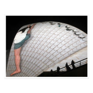 klare Ausdehnung des Opernhauses Postkarte