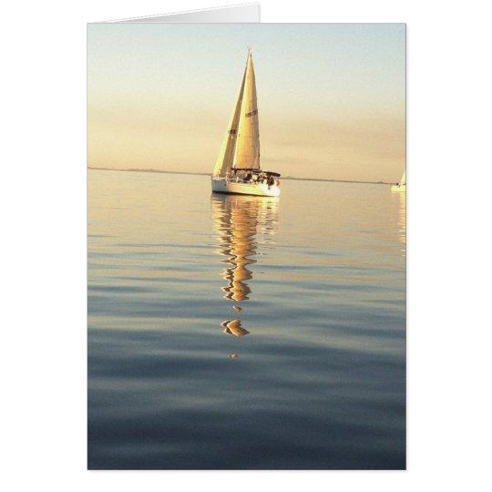 Klare Himmel u. ruhige Meere Mitteilungskarte