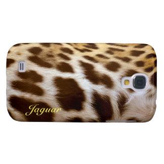 Klarer Fall der Jaguar-Pelz-großer Katzen-Tier-HTC Galaxy S4 Hülle