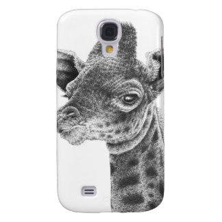 Klarer Telefon-Kasten der Baby-Giraffen-HTC Galaxy S4 Hülle