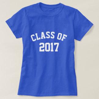 Klasse des T - Shirt 2017 Frauen (mehr Farben)