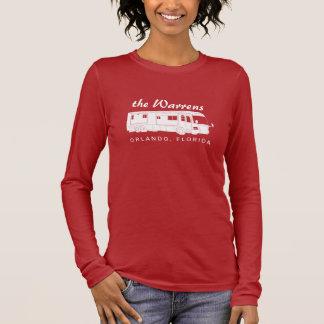 Klasse eine Motorhome/Bus-Silhouette-Grafik Langarm T-Shirt