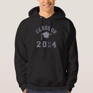 Klasse von 2014 Abschluss - Grau 2 Hoodie