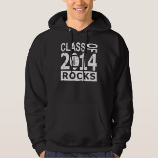 Klasse von 2014 Felsen Hoodie