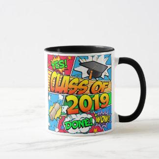 Klasse von Comic-Buch 2019 Tasse