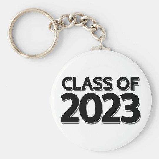 Klasse von keychain 2023 standard runder schlüsselanhänger