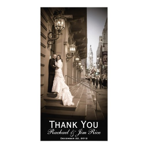 Klassiker danken Ihnen zu kardieren Individuelle Photo Karten