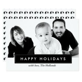 Klassiker kardiert frohe Feiertage | WEIHNACHTEN Karte