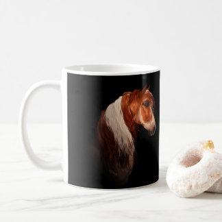 Klassiker-Tasse des Sauerampfer-Farben-Pferd11oz Kaffeetasse