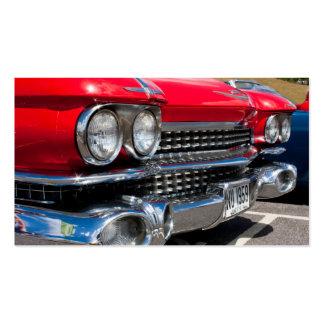 Klassische Auto-Stärkungsmittel-Visitenkarte