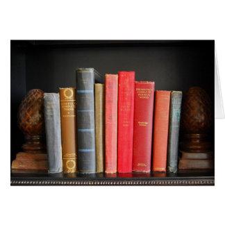 Klassische Bücher Karte