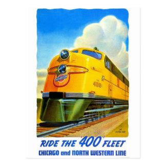 Klassische Eisenbahn-Postkarte Postkarten