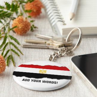Klassische Flagge von Ägypten Schlüsselanhänger