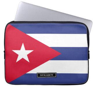 Klassische Flagge von Kuba Laptop Sleeve