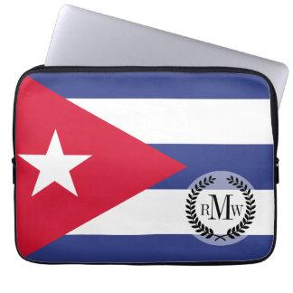 Klassische Flagge von Kuba Laptopschutzhülle