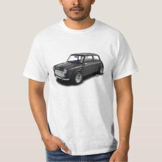 Klassische Holzkohlen-Miniauto auf weißem T - T-Shirt