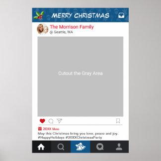 Klassische Instagram Poster