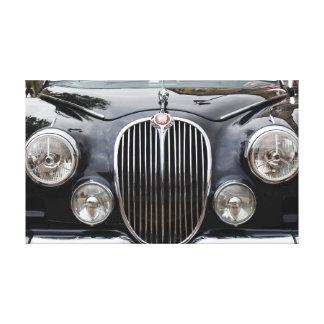 Klassische Jaguar-Leinwand Leinwanddruck