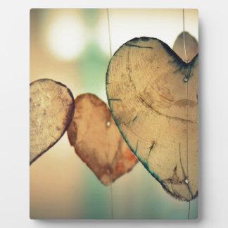 Klassische Liebe Fotoplatte