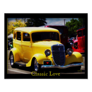 Klassische Liebe Poster