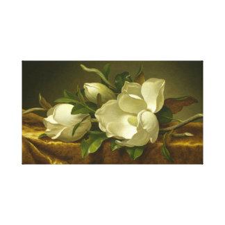 Klassische Magnolien dehnten Leinwand-Kunst aus Leinwanddruck