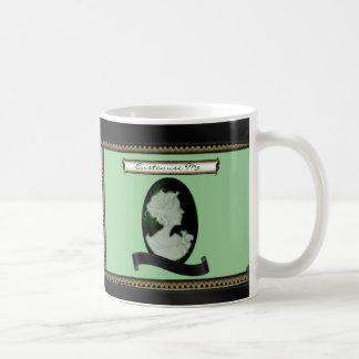 Klassische Miniatur (Jade/Grün) Kaffeetasse
