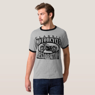 Klassische Motorrad-Wiederherstellung T-Shirt