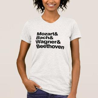 Klassische Musik-Komponist-Band-lustiger T - Shirt
