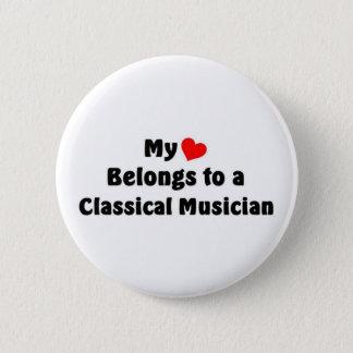 Klassische Musik Runder Button 5,1 Cm