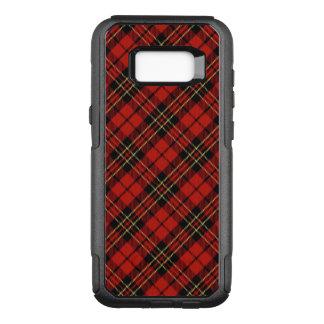 Klassische rote Galaxie S8 Tartan-Samsungs OtterBox Commuter Samsung Galaxy S8+ Hülle