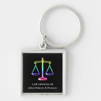 Klassische Skalen der Rechtsanwälte der Schlüsselanhänger