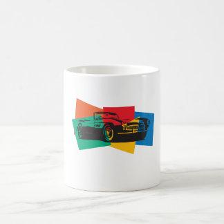 Klassische Sportautographik Kaffee Haferl