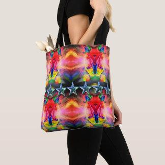 Klassische Tasche - modernes glückliches buntes