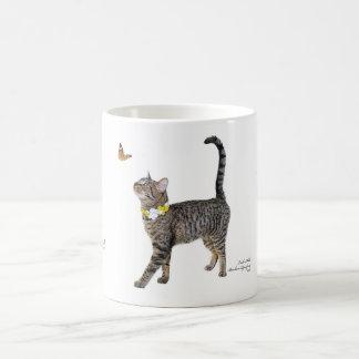 Klassische Tasse, die Tabatha, den Tabby Tasse