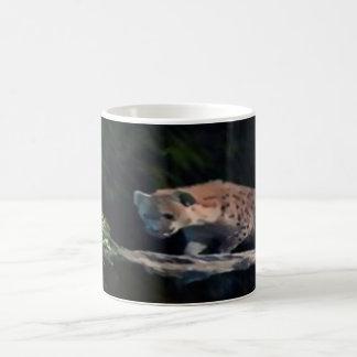 klassische Tasse, Weiß, Gewohnheit, Bild, Tiger Kaffeetasse