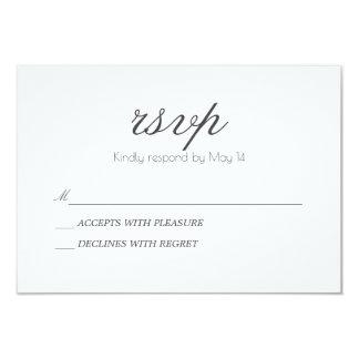 Klassische u. romantische   UAWG Karte 8,9 X 12,7 Cm Einladungskarte