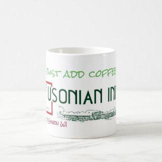 Klassische Usonian Gasthaus-Weiß-Tasse Tasse