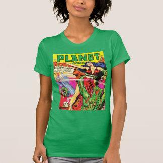 KLASSISCHE Vierzigerjahre SCI FI-COMIC-ABDECKUNG T-Shirt