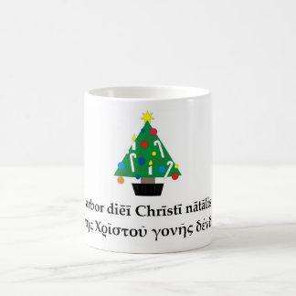Klassische Weihnachtsbaum-Tasse Kaffeetasse