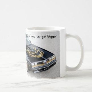 Klassische weiße Tasse Transportes morgens