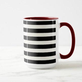 Klassische Zebra-Tasse machen es Ihr durch Zazz_It Tasse