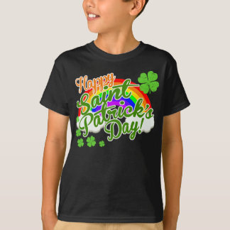 Klassischen glücklichen St Patrick Tag T-Shirt