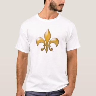Klassischer GoldLilien-T - Shirt