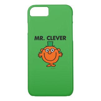 Klassischer Herr Clever Logo iPhone 8/7 Hülle