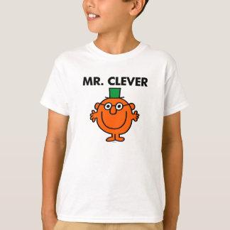 Klassischer Herr Clever Logo T-Shirt