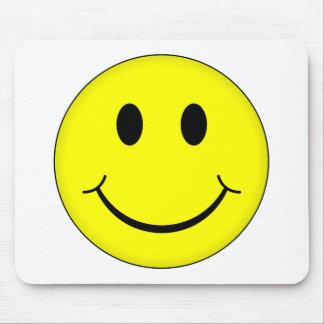 Klassischer Smiley Mauspad