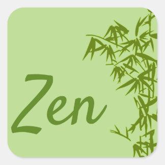 Klassischer Sticker Zen