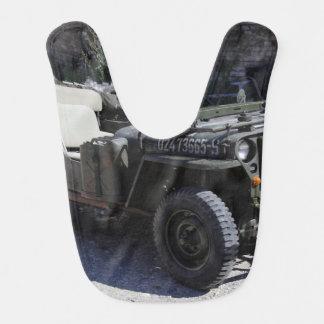 Klassischer Willys Jeep Babylätzchen